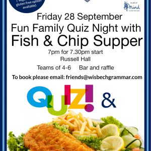 Friends' Quiz and Chips eve