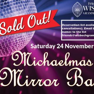 The Friends' annual Michaelmas Ball